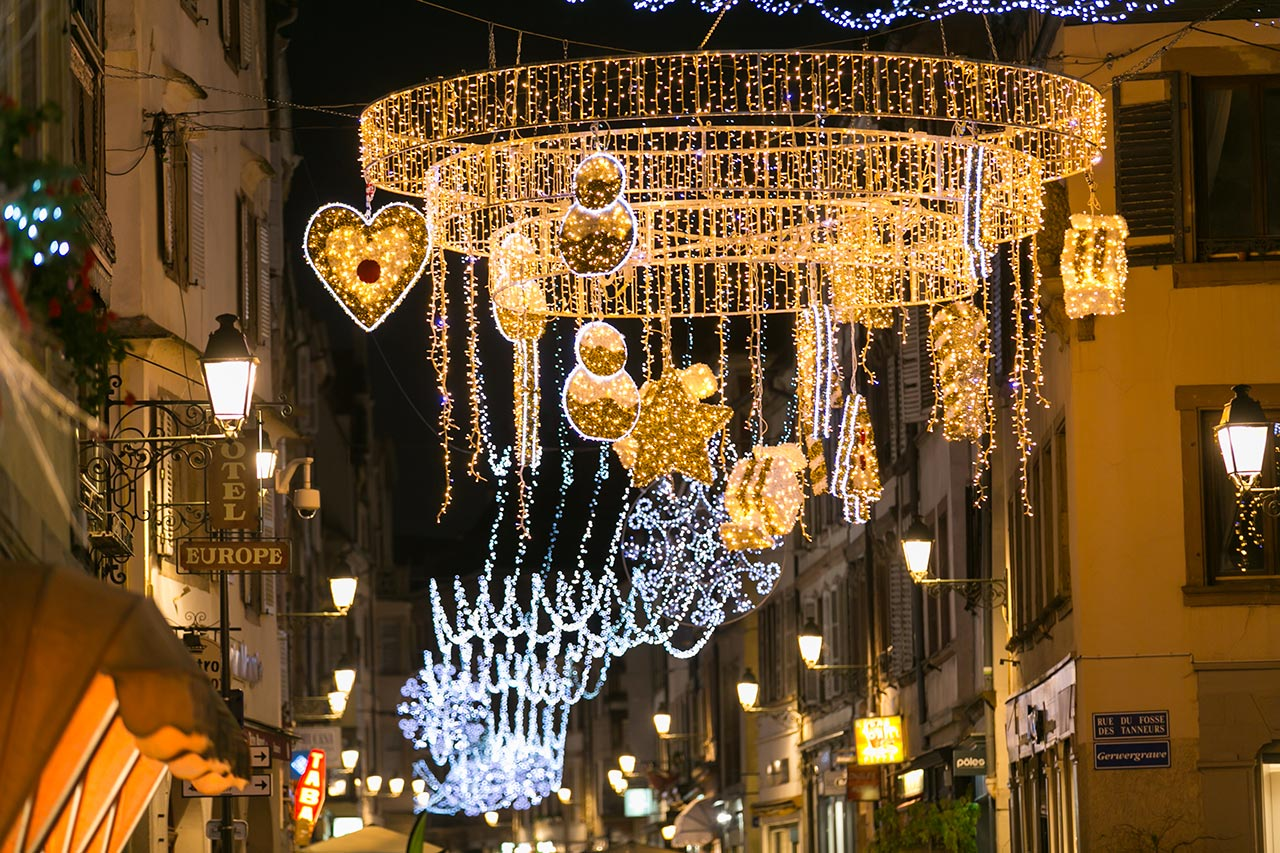 Les Illuminations de Noël