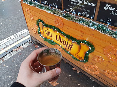 Enjoy authentic Alsatian mulled white wine!